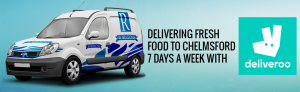 Robinsons, delivering to Chelsmford
