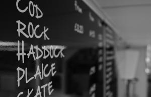 Robinsons Chelmsford Shop Menu Board